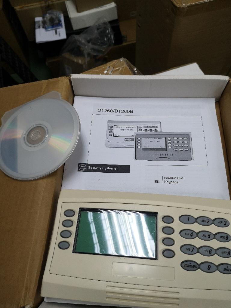 Bosch D 1260 ATM Keypad 00002