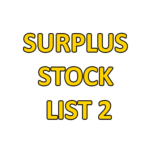 surplus stock list 2