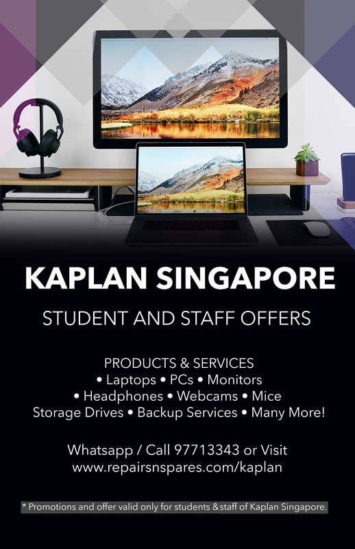 kaplan singapore offer repairs and spares 3