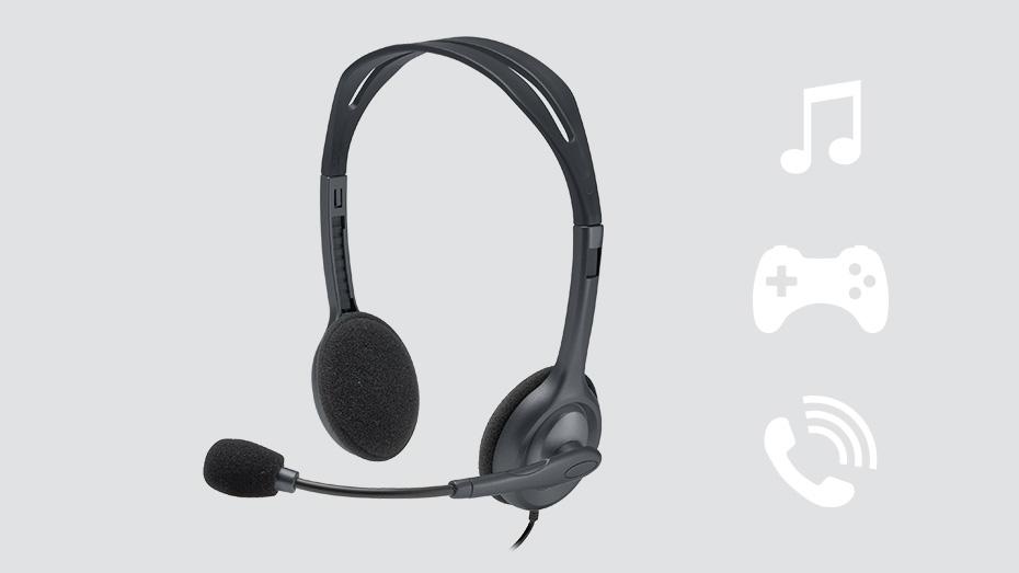 Logitech H111 Stereo Headset Product Photo 1
