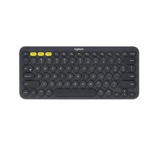 Logitech K380 Keyboard Multi Device Bluetooth Black 3