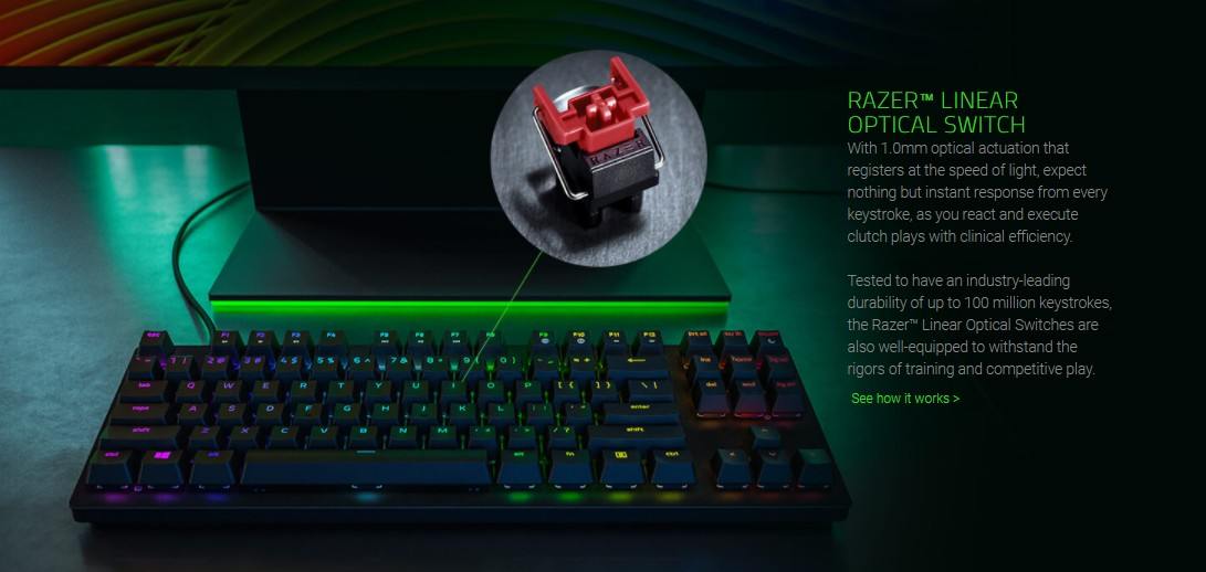 Razer Huntsman Tournament Edition Keyboard Product Info 2