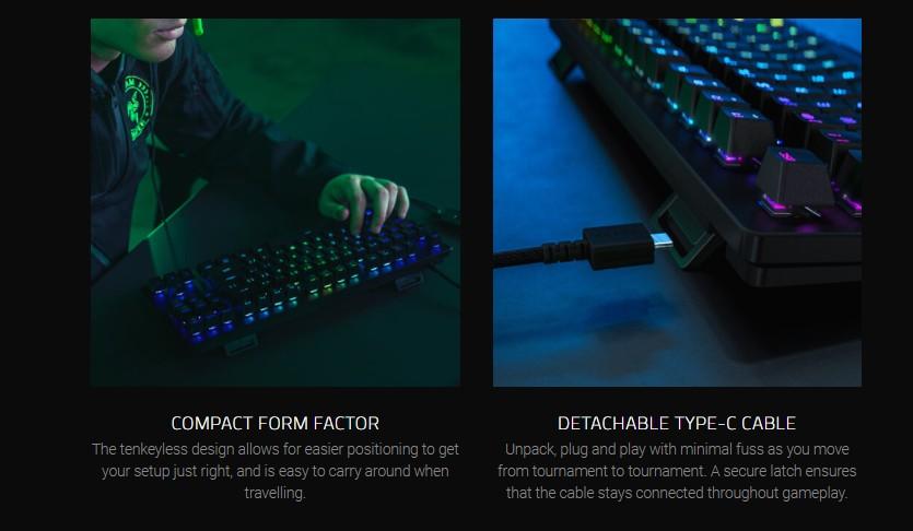 Razer Huntsman Tournament Edition Keyboard Product Info 5