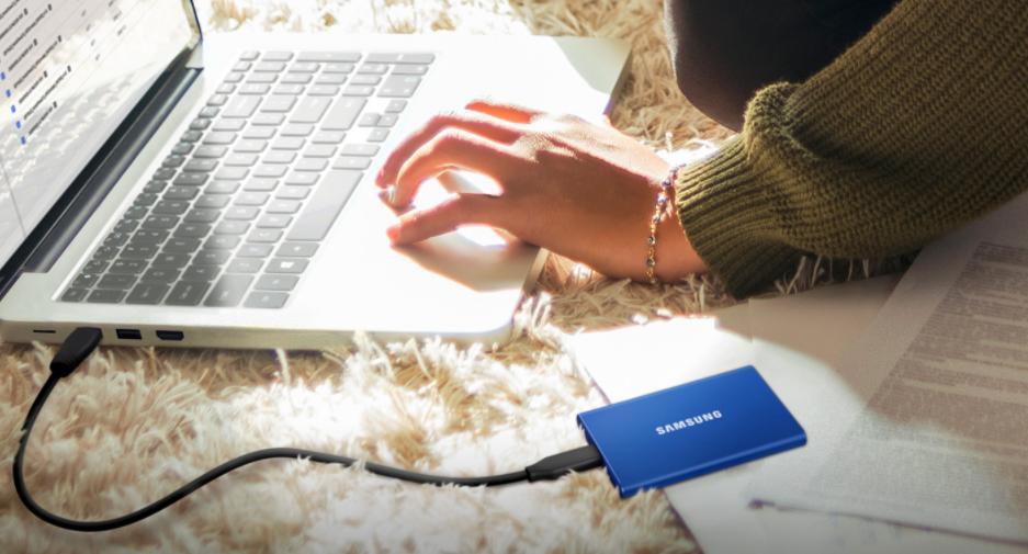 Samsung T7 Portable SSD 500GB Non Touch Marketing 1