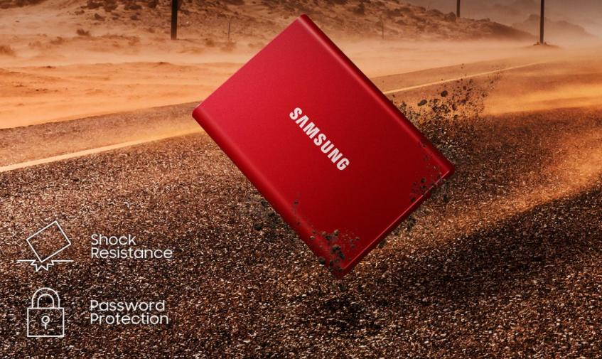Samsung T7 Portable SSD 500GB Non Touch Marketing 3
