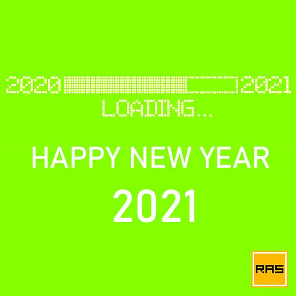 Happy New Year 2021 RAS